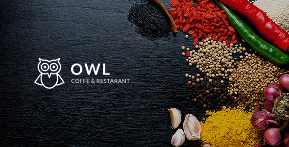 OWL - Cafe & Restaurant Drupal 8.5 Template            TFx Matty Lloyd