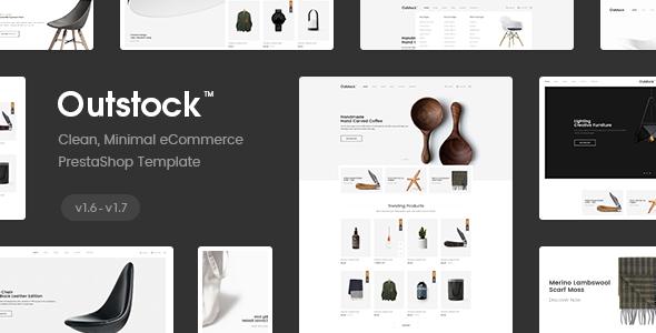 Outstock Responsive PrestaShop 1.6, Electronic ,Fashion, Shopping - Multi Store (4 Homes)            TFx Whitney Juurou