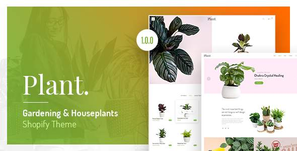 Plant - Gardening & Houseplants Shopify Theme            TFx Thom Goyathlay