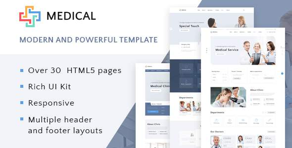 Private Medical Center Multipage HTML5 Template            TFx Yorick Swithun