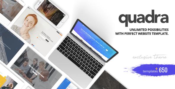 Quadra - Creative Multi-Purpose Template            TFx Monte Weldon