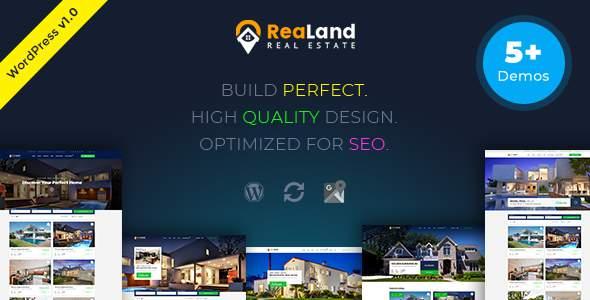 ReaLand - Real Estate Responsive WordPress Theme            TFx Ferdy Nobuyuki