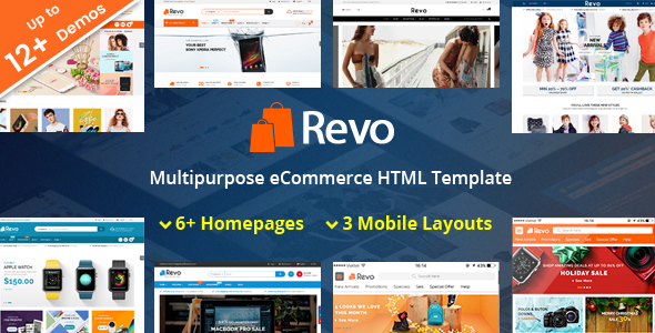 Revo - Responsive MultiPurpose HTML 5 Template (Mobile Layouts Included)            TFx Laz Trey