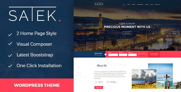Satek : Resort and Hotel WordPress Theme            TFx Hagop Donovan