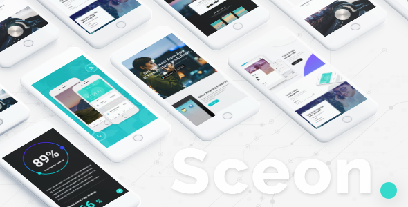 Sceon – A Theme for Apps and Startups            TFx Leith Hovsep