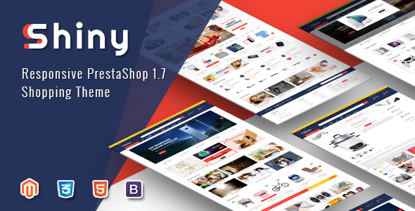 Shiny - Best Responsive Prestashop 1.7 Shopping Theme            TFx Rickie Emory