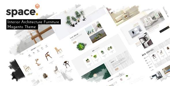 Space - Interior Architecture Furniture Magento 2 Theme            TFx Tasunka Cody