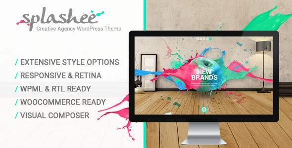 Splashee - Creative Agency WordPress Theme            TFx Abe Yoshiro