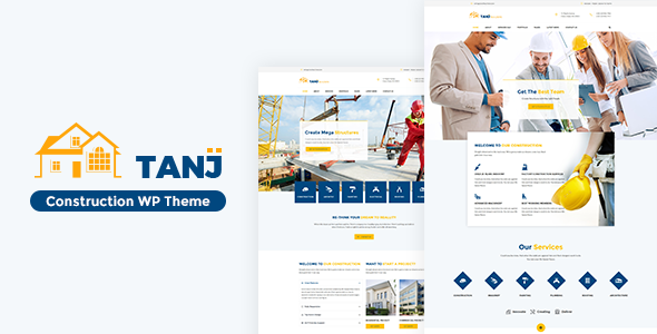 Tanj Build - Construction, Building WP Theme            TFx Vernon Henry