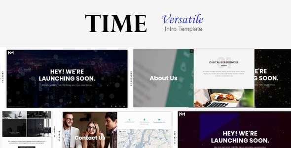 Time - Versatile Intro Template            TFx Garret Stone
