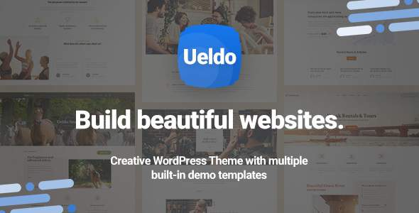 Ueldo - Responsive Multi-Purpose WordPress theme            TFx Jarred Easton