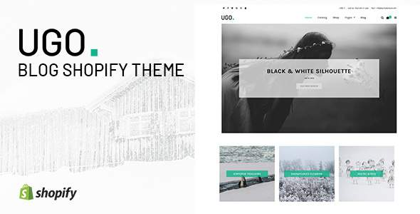 Ugo - Blog Shopify Theme            TFx Lake Frederick