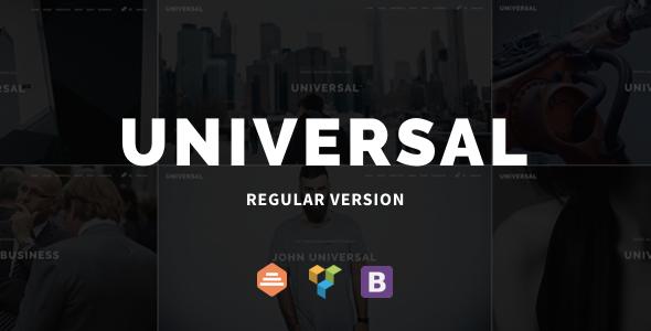 Universal - Corporate WordPress Multi-Concept Theme            TFx Nazar Major