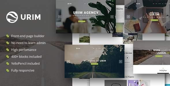 Urim - Creative Agency WordPress Theme            TFx Christopher Mahpiya