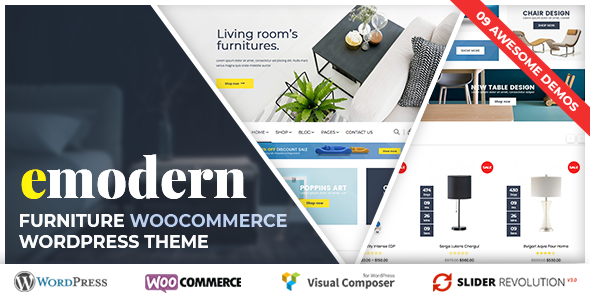 VG Emodern - Furniture Theme with 9 HomePages            TFx Aaron Oswald