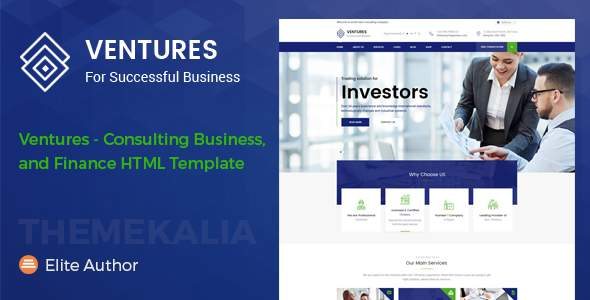 Ventures - Consulting Business and Finance HTML Template            TFx Willis Hewie