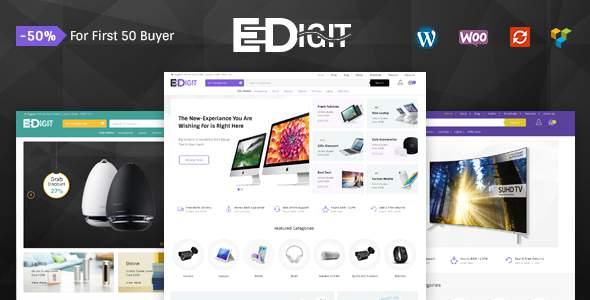 eDigit - Multipurpose WooCommerce Theme            TFx Aqchoz Darius