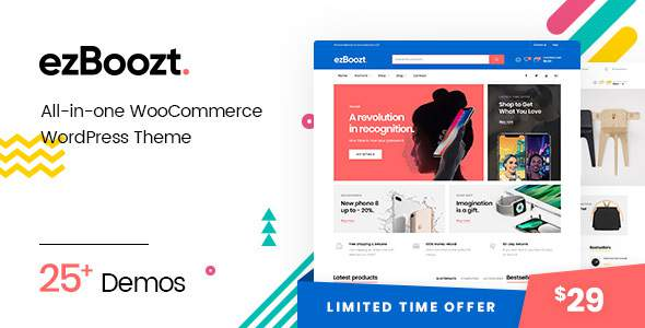 ezBoozt – All-in-one WooCommerce WordPress Theme            TFx Neville Monte