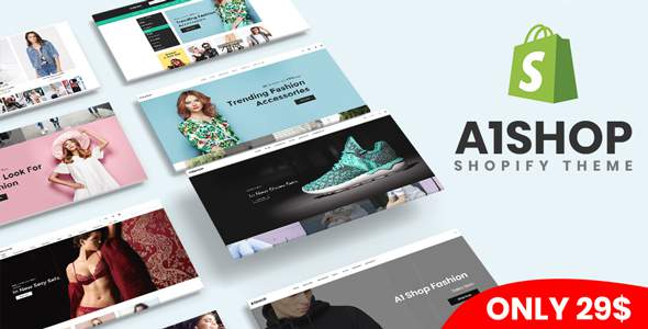 A1Shop – Responsive & Multipurpose Sectioned Drag & Drop Shopify Theme            TFx Anthony Daley