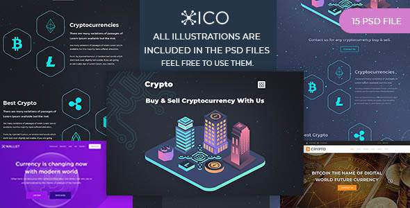 AVABIL ICO –  Bitcoin, Cryptocurrency, ICO Wallet Landing Page            TFx Lucas Herb