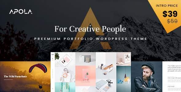 Apola - Photography Portfolio WordPress Theme            TFx Tarquin Lucian