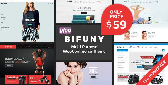 BIFUNY – Multipurpose WooCommerce WordPress Theme            TFx Kodey Cohen