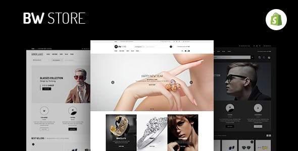 BW Store – Multi Store Responsive Shopify Theme            TFx Esme Bukha
