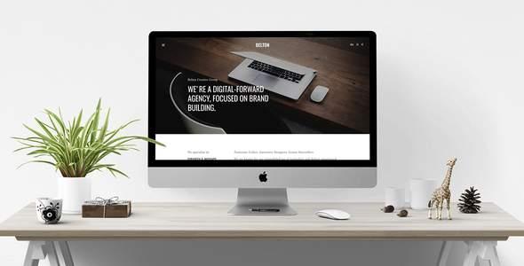 Belton – Minimal HTML5 Black and White Multipurpose Template            TFx Roger Jewel