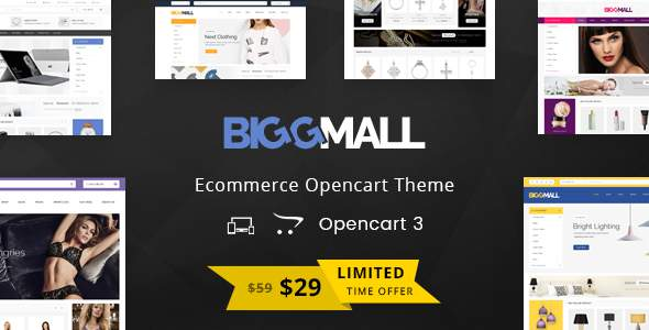 BiggMall – Multipurpose OpenCart 3 Theme            TFx Gale Freeman