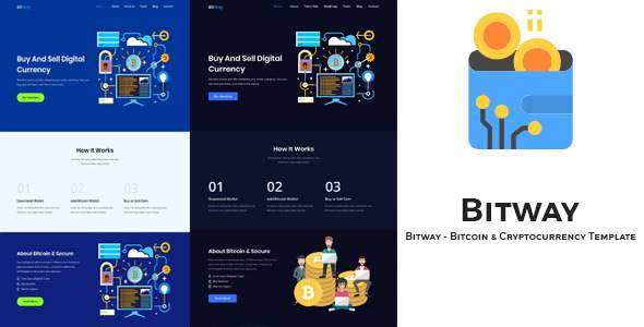 Bitway – Crypto Currency HTML5 Template            TFx Terry Linton