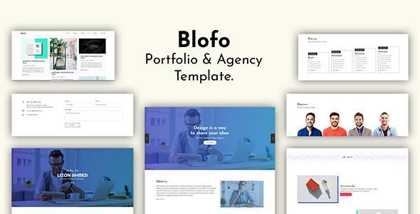 Blofo - Portfolio & Agency Template            TFx Rocky Perry