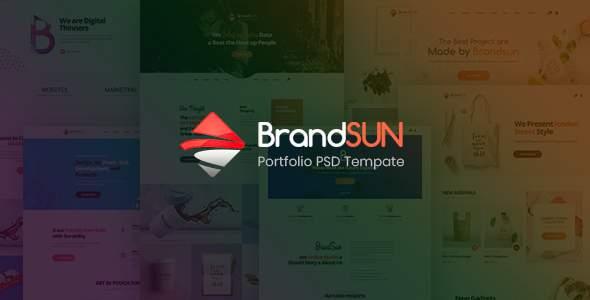 Brandsun - Multi-Purpose PSD Template            TFx Bennett Jerrold