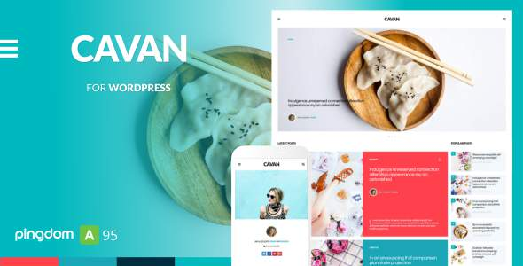 CAVAN - A Distinctive WordPress Blog Theme            TFx Bagus Maxwell