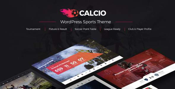 Calcio - Football & Soccer Management WordPress Theme            TFx Erskine Jojo