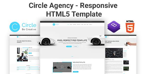 Circle Agency - Responsive HTML5 Template            TFx Adam Agung