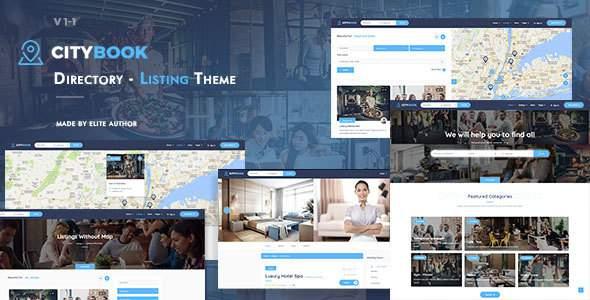 CityBook - Directory & Listing WordPress Theme            TFx Godfrey Conrad