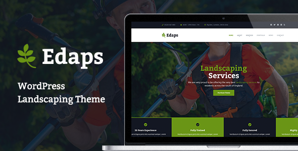 Edaps - WordPress Landscaping Theme            TFx Harta Vernon