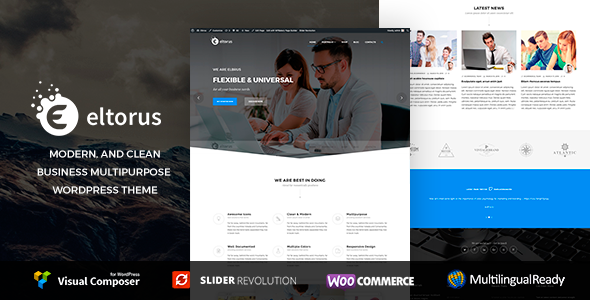 Eltorus  - Multipurpose WordPress Theme            TFx Wickaninnish Citlali