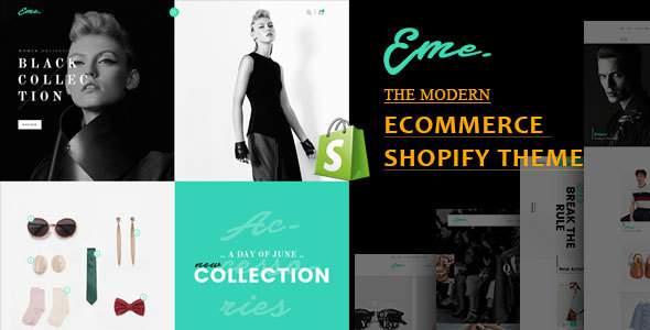 Eme - Multipurpose Shopify Theme            TFx Blaze Maximillian