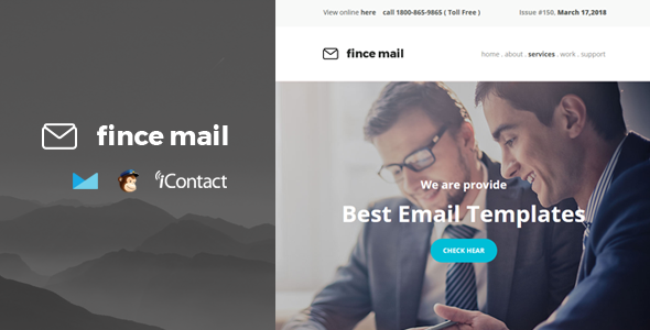 Fince Mail - Responsive E-mail Template            TFx Dale Newt