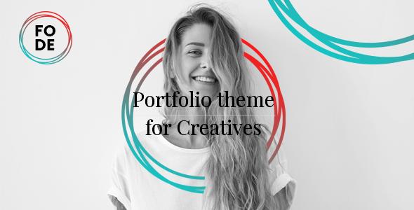 Fode - Portfolio Theme for Creatives            TFx Royce Xavier