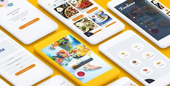 Foodnow - Sketch Food App            TFx Phillip Ezra