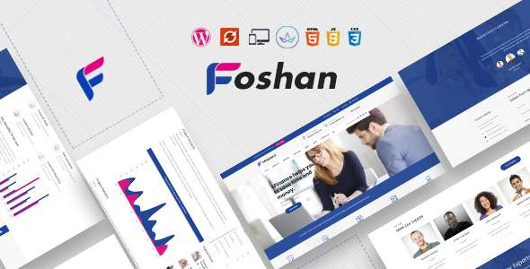 Foshan – Business Consulting WordPress Theme            TFx Brock Clyde