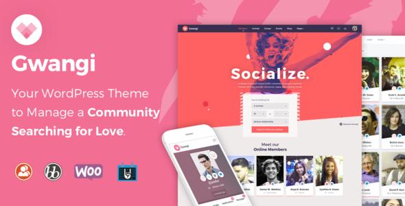 Gwangi - Dating & Community Theme            TFx Keefe Forrest