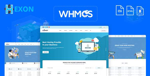 HEXON-WHMCS Hosting Cloud Server Template            TFx Eddie Grant