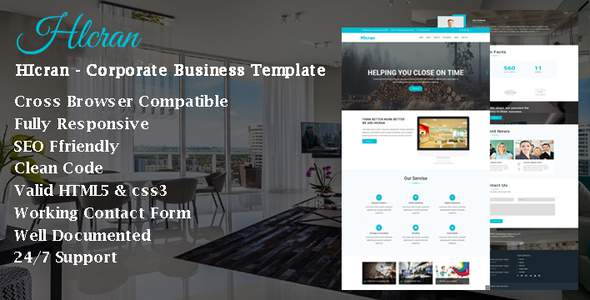 HIcran - Corporate Business Template            TFx Wilmer Herb