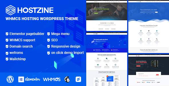 Hostzone – Hosting WordPress Theme            TFx Elihu Ernest