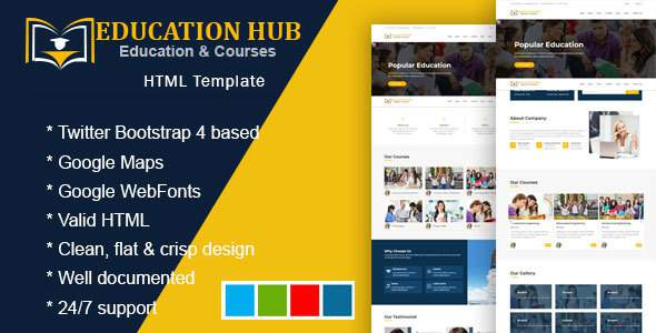 Inspire - Education Learning Theme For Education Courses School HTML            TFx Lennie Bradford