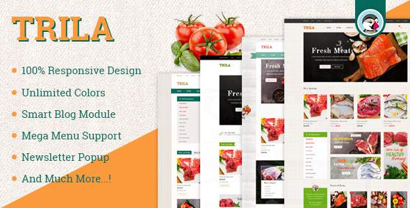 JMS Trila – Responsive Fresh Food Prestashop Theme            TFx Willy Sequoia