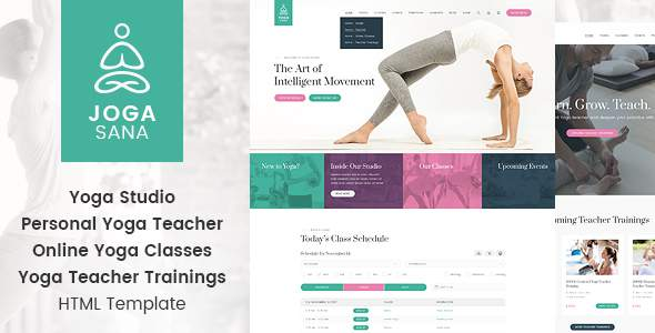 Jogasana - Yoga Oriented Website Template            TFx Hal Jeffery